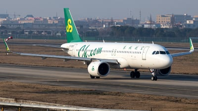 A picture of B308V - Airbus A320251N - Spring Airlines - © XPHNGB