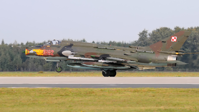 9102 - Sukhoi Su-22M4 Fitter K - Poland - Air Force