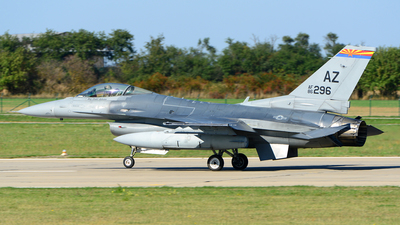 86-0296 - General Dynamics F-16C Fighting Falcon - United States - US Air Force (USAF)
