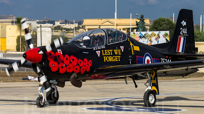 ZF244 - Short Tucano T.1 - United Kingdom - Royal Air Force (RAF)