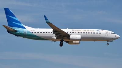 PK-GFP - Boeing 737-8U3 - Garuda Indonesia