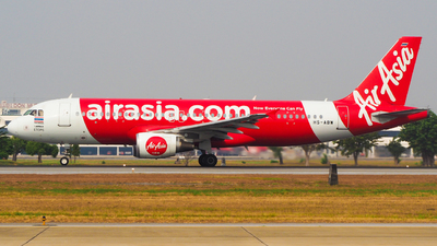 A picture of HSABW - Airbus A320216 - AirAsia - © Jaruphat Tonthongkam