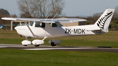ZK-MDK - Cessna 152 - New Zealand International Commercial Pilot Academy