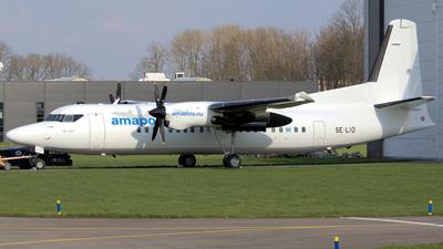 SE-LIO - Fokker 50 - Amapola Flyg
