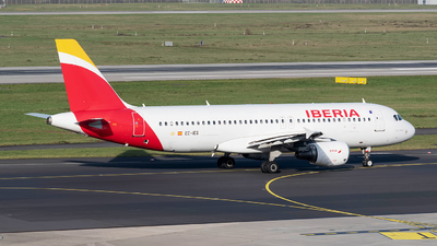 EC-IEG - Airbus A320-214 - Iberia