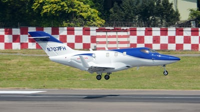 N707FH - Honda HA-420 HondaJet - Private