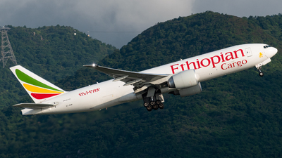 A picture of ETAVN - Boeing 777F60 - Ethiopian Airlines - © Lam Yim - Skies of Pearl