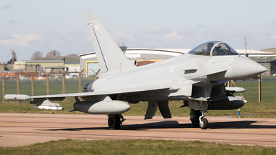A picture of ZK350 - Eurofighter Typhoon FGR.4 -  - © Chris Andrew Barker