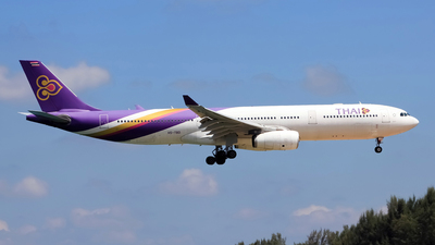 HS-TBD - Airbus A330-343 - Thai Airways International