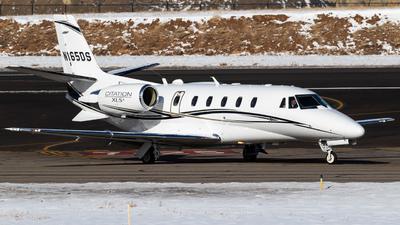 A picture of N165DS - Cessna 560XL Citation Excel XLS+ - [5606175] - © Alex Crail