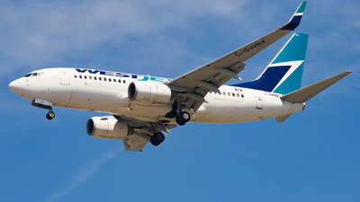 A picture of CGWBX - Boeing 7377CT - WestJet - © Valoy