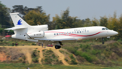 B-8026 - Dassault Falcon 7X - Beijing City International Jet