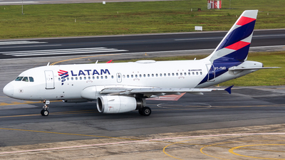 A picture of PTTMO - Airbus A319132 - LATAM Airlines - © fachetti_spotter