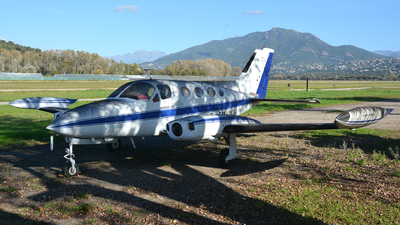 A picture of OMMCA - Cessna 414 Chancellor - [4140064] - © Romain Roux