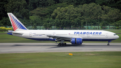 EI-UNV - Boeing 777-222(ER) - Transaero Airlines