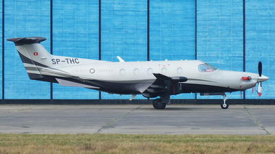 A picture of SPTHC - Pilatus PC12/47E - [1573] - © Darek Kula