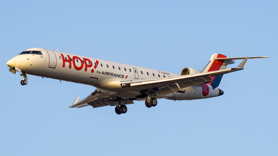 F-GRZN - Bombardier CRJ-701 - HOP! for Air France