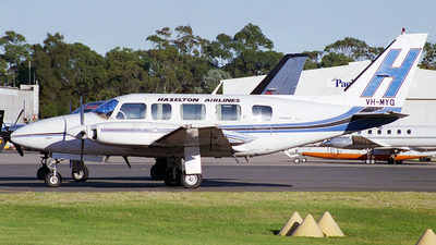 VH-MYQ - Piper PA-31-350 Navajo Chieftain - Hazelton Airlines