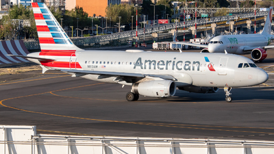 A picture of N813AW - Airbus A319132 - American Airlines - © Juan Carlos Alvarez (MAS Aviation Press)