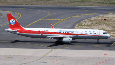 B-305T - Airbus A321-231 - Sichuan Airlines