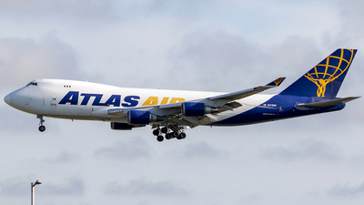N475MC - Boeing 747-47U(F) - Atlas Air