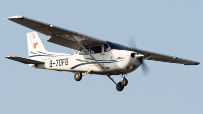 B-70F8 - Cessna 172S Skyhawk SP - Civil Aviation Flight University of China