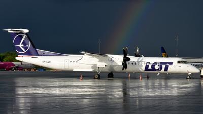 A picture of SPEQB - De Havilland Canada Dash 8400 - LOT - © Marcin G. Dabrowski