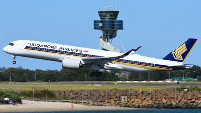 9V-SHS - Airbus A350-941 - Singapore Airlines