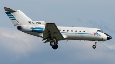 RA-87494 - Yakovlev Yak-40 - Vologda Air