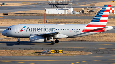 A picture of N832AW - Airbus A319132 - American Airlines - © OCFLT_OMGcat