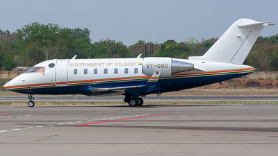 VT-GOG - Bombardier CL-600-2B16 Challenger 650 - India - Government of Gujarat