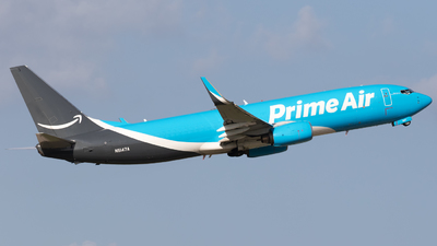 N5147A - Boeing 737-83N(BCF) - Amazon Prime Air (Southern Air)