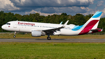 A picture of DAEWF - Airbus A320214 - Eurowings - © Niclas Rebbelmund