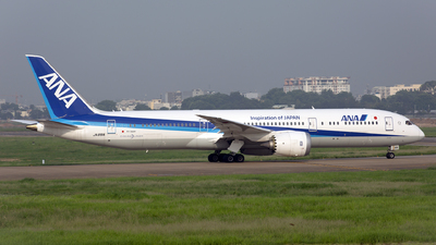 A picture of JA891A - Boeing 7879 Dreamliner - All Nippon Airways - © Thanh Ho - SFAP