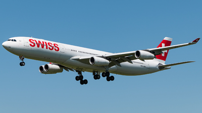 A picture of HBJMA - Airbus A340313 - Swiss - © Christian Kruhl
