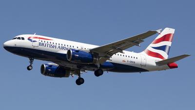 G-DBCB - Airbus A319-131 - British Airways