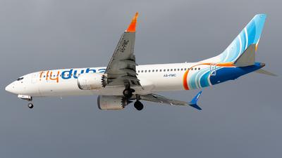 A picture of A6FMC - Boeing 737 MAX 8 - FlyDubai - © Maratttik