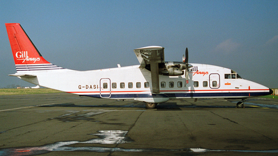 G-DASI - Short 360-100 - Gill Airways