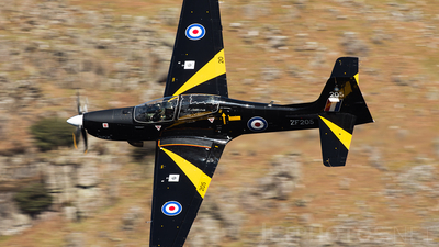 ZF205 - Short Tucano T.1 - United Kingdom - Royal Air Force (RAF)