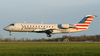 N447AW - Bombardier CRJ-200LR - American Eagle (Air Wisconsin)