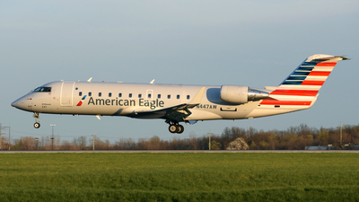 A picture of N447AW - Mitsubishi CRJ200LR - United Airlines - © DJ Reed - OPShots Photo Team