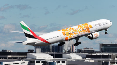 A picture of A6ENG - Boeing 77731H(ER) - Emirates - © Morris Biondi