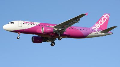 F-WWIT - Airbus A320-214 - Peach Aviation