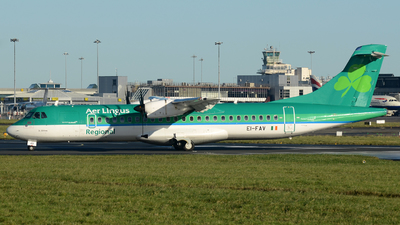 EI-FAV - ATR 72-212A(600) - Aer Lingus Regional (Aer Arann)