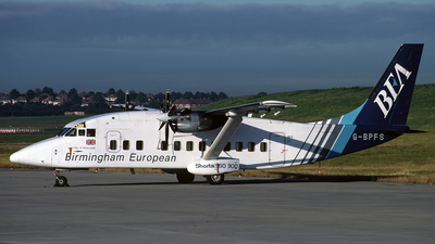 G-BPFS - Short 360-300 - BEA - Birmingham European Airlines