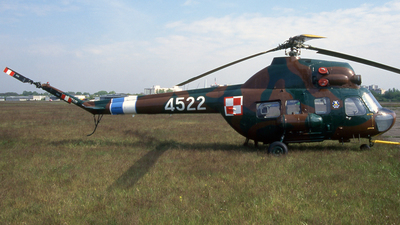 4522 - PZL-Swidnik Mi-2 Hoplite - Poland - Air Force