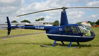 A picture of FHJAR - Robinson R44 Clipper II - [13371] - © Romain Roux