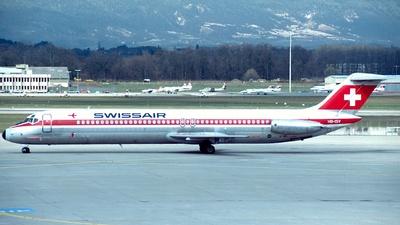 HB-ISV - McDonnell Douglas DC-9-51 - Swissair
