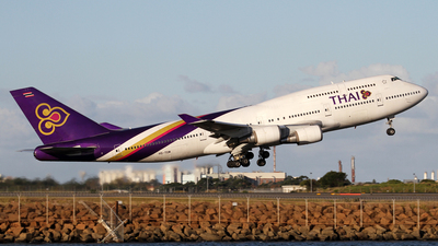 HS-TGM - Boeing 747-4D7 - Thai Airways International