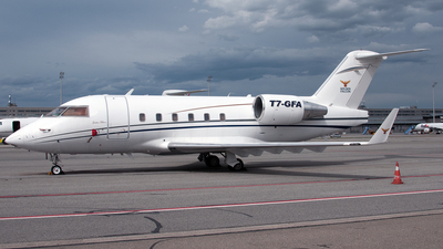 A picture of T7GFA - Bombardier CL601 Challenger - [3025] - © PAUL LINK